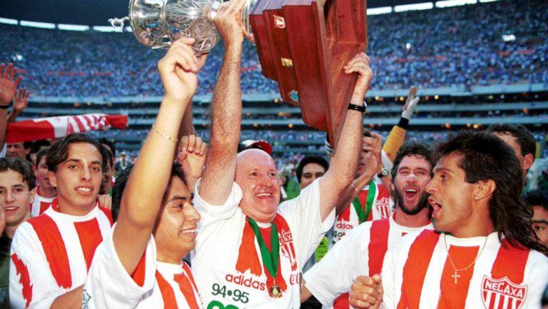 Manuel Lapuente: 'El Necaxa de los 90 era un muy buen equipo'