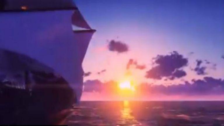 Atardecer en el Pacífico