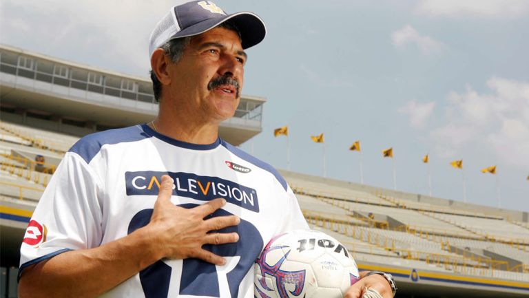 Ricardo Ferretti, en su paso como timonel de Pumas