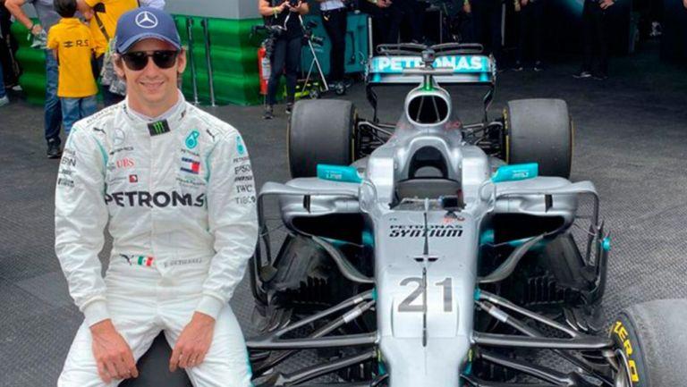 Esteban Gutiérrez deja de ser piloto de prueba de Mercedes, el equipo lo sustituyó con otro elemento