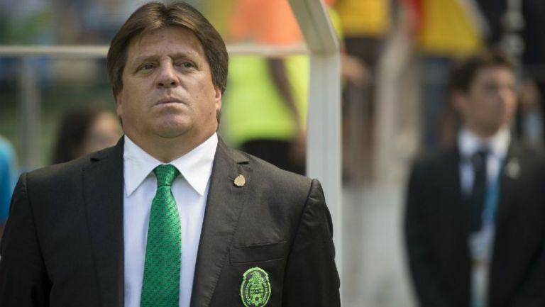 Miguel Herrera como técnico de la Selección Mexicana