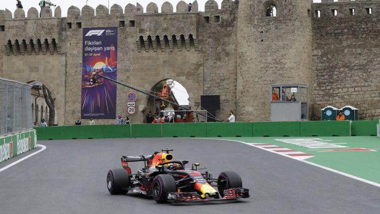 Circuito del GP de Azerbaiyán de la F1
