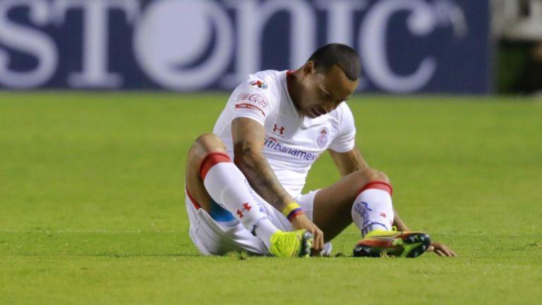 Felipe Pardo lastimado con Toluca