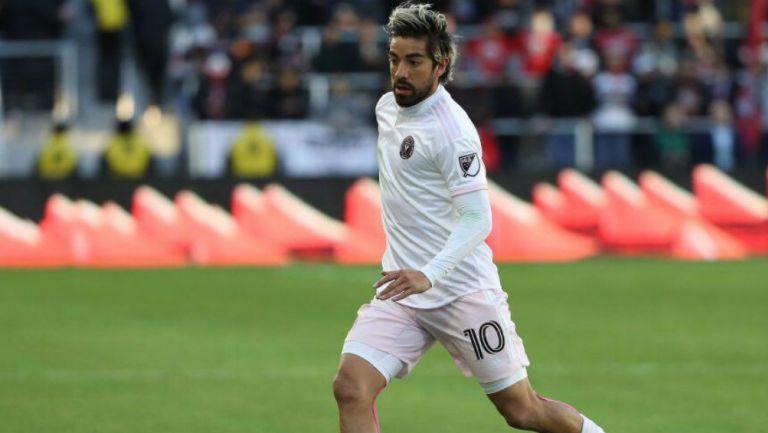 Rodolfo Pizarro jugando con el Inter Miami