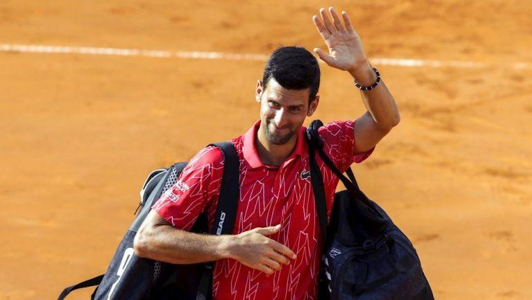 Djokovic en el Adria Tour