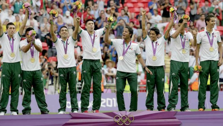 Selección Mexicana Sub23 en premiación