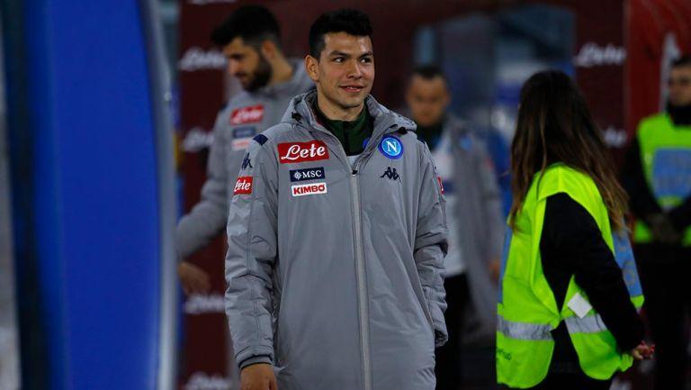 Chucky Lozano: Napoli casi lo manda a la Superliga de China