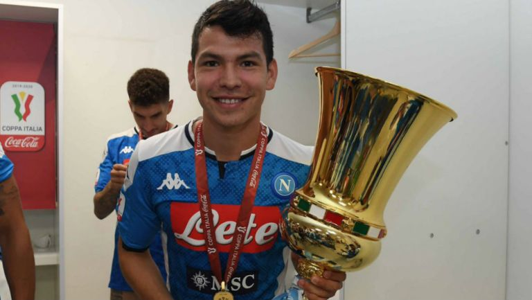 Hirving Lozano: Chucky se convirtió en el primer mexicano campeón en Italia