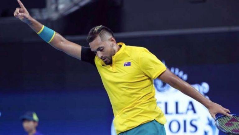 US Open: Kyrgios llamó 'egoístas' a los organizadores del torneo americano