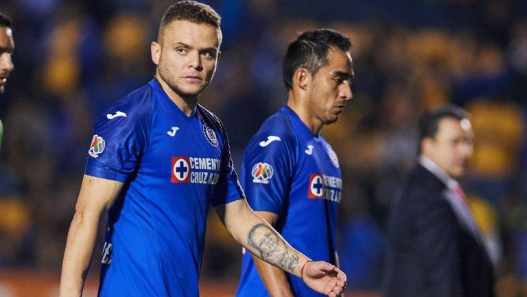 Jonathan Rodriguez y Rafael Baca en el Universitario