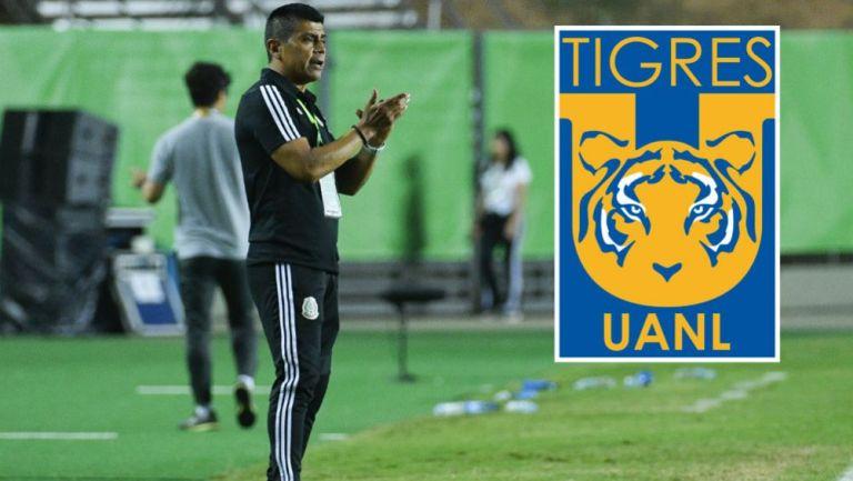 Marco Antonio 'Chima' Ruiz como entrenador del Tri Sub 17