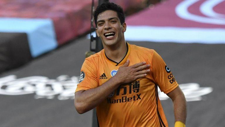 Raúl Jiménez expresó su felicidad por volver y anotar gol con Wolverhampton