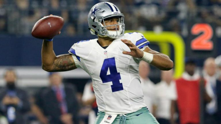 Cowboys: Dak Prescott firmará contrato de Jugador Franquicia este lunes