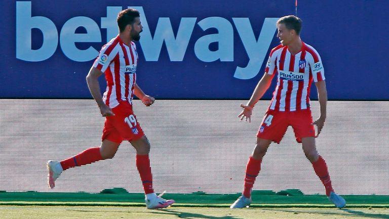 Héctor Herrera: Atlético de Madrid venció a Levante y se afianzó en el tercer lugar