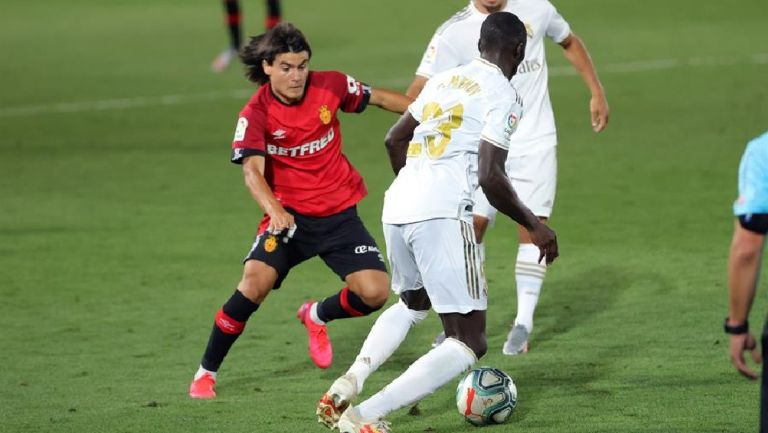 Luka Romero debutó con el Mallorca