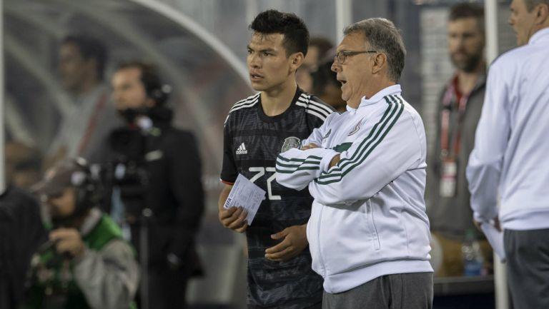 Selección Mexicana: Tata Martino aconsejó a Chucky Lozano por problemas con Gattuso
