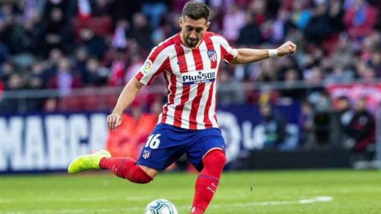 Héctor Herrera en juego del Atlético de Madrid