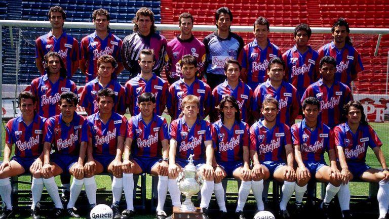 El Atlante de la temporada 1992-1993
