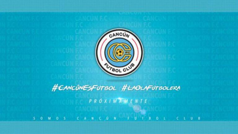Escudo del nuevo club Cancún FC