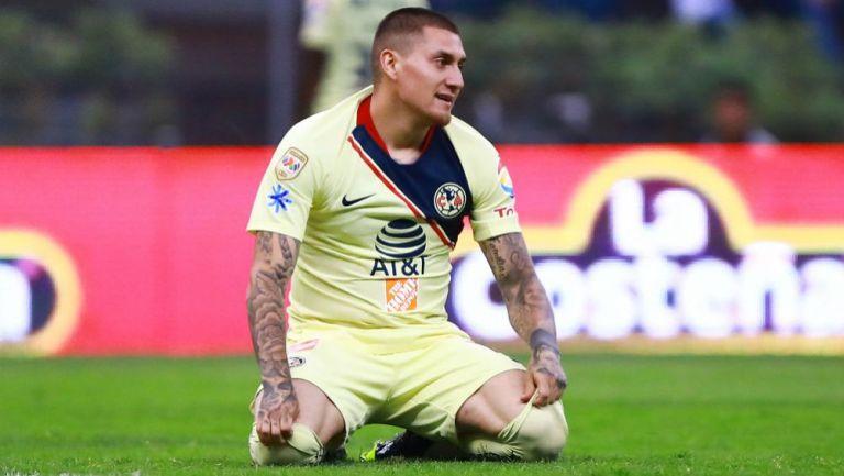 Nico Castillo en lamento con las Águilas del América