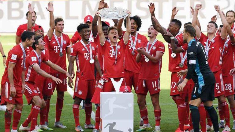 Bayern se proclamó de la temporada 2019-20