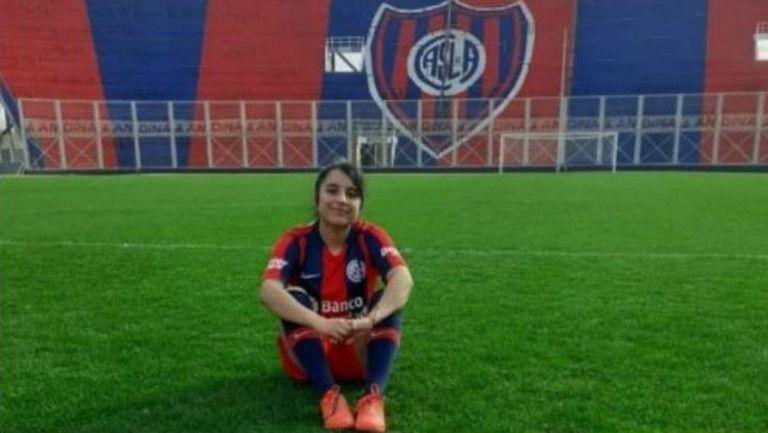 Rocío Vázquez, jugadora de San Lorenzo