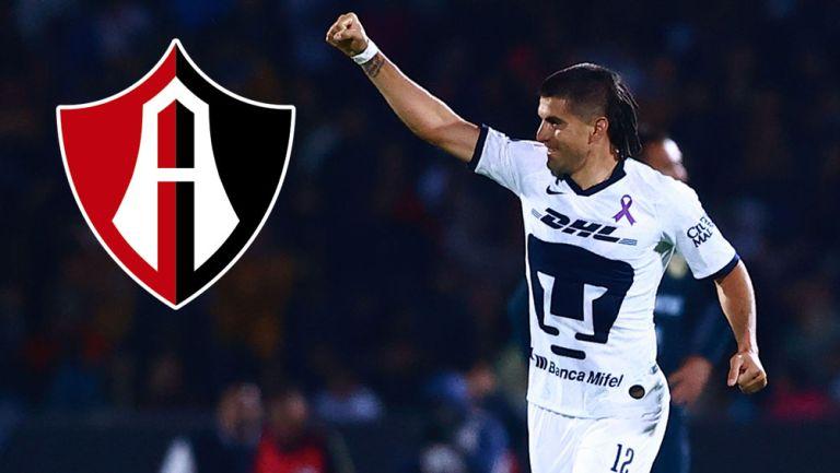 Ignacio Malcorra en un partido con Pumas