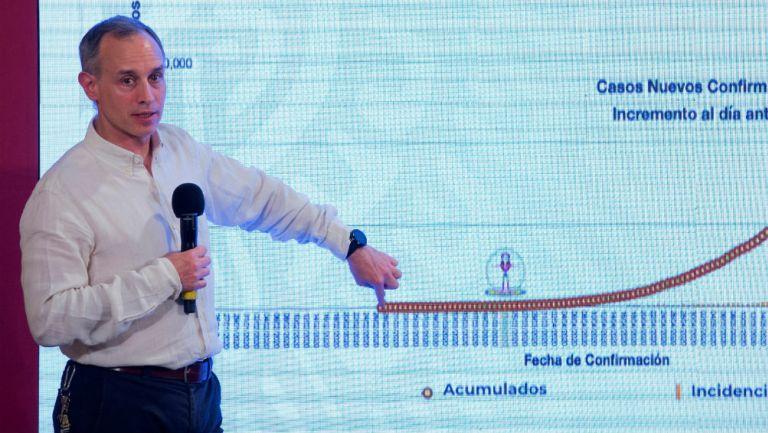 Coronavirus: Hugo López-Gatell reportó desaceleración de Covid-19 en México