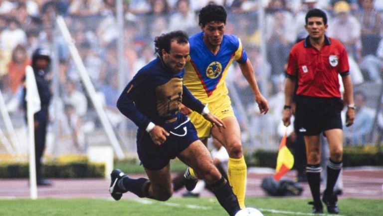 Juan Carlos Vera en la Final de temporada 90-91 vs América