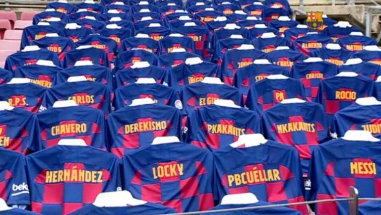 Barcelona: Los Culés jugarán con 'afición' en las gradas vs Atlético