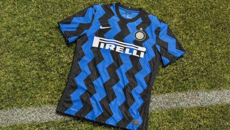 La nueva playera del Inter de Milan