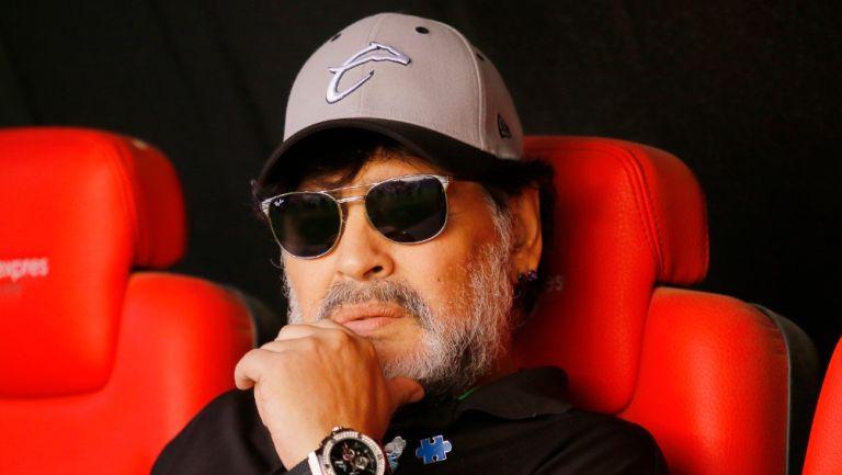 Diego Armando Maradona en su paso por Dorados