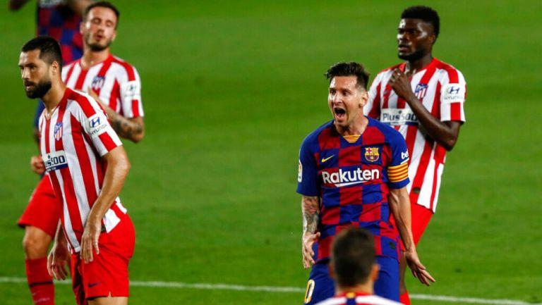 Barcelona empató con Atlético de Madird