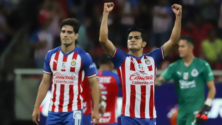 Jesús Sánchez tras una victoria de Chivas en Liga MX