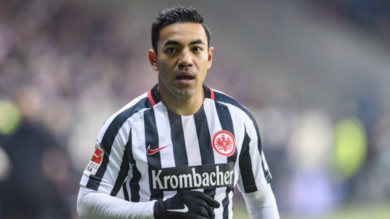 Marco Fabián jugando en Alemania