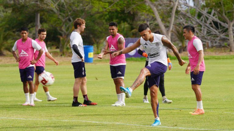 Mazatlán FC en entrenamiento