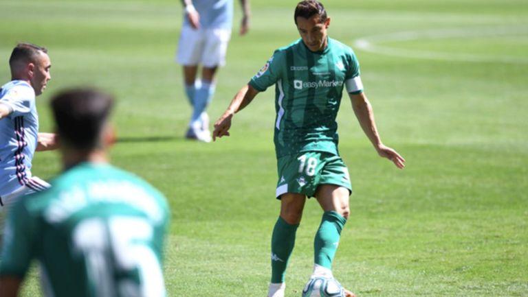 La Liga: Betis de Guardado y Lainey logró empate ante el Celta de Araujo