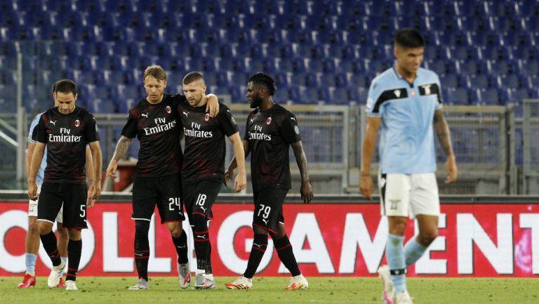 Serie A: Lazio cayó ante el Milan