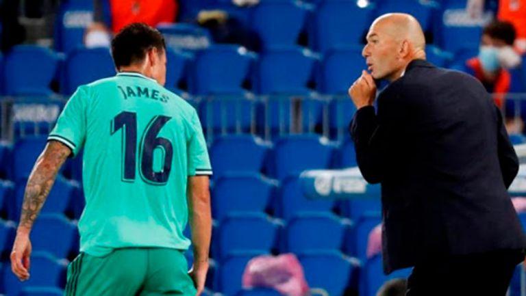 Real Madrid: Zidane reveló que James Rodríguez pidió no ser convocado