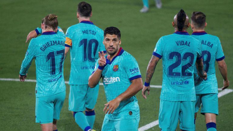Barcelona: Luis Suárez igualó a Ladislao Kubala como tercer máximo goleador culé