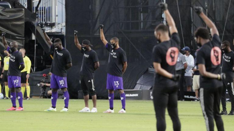 MLS: Más de 100 jugadores se manifestaron contra el racismo