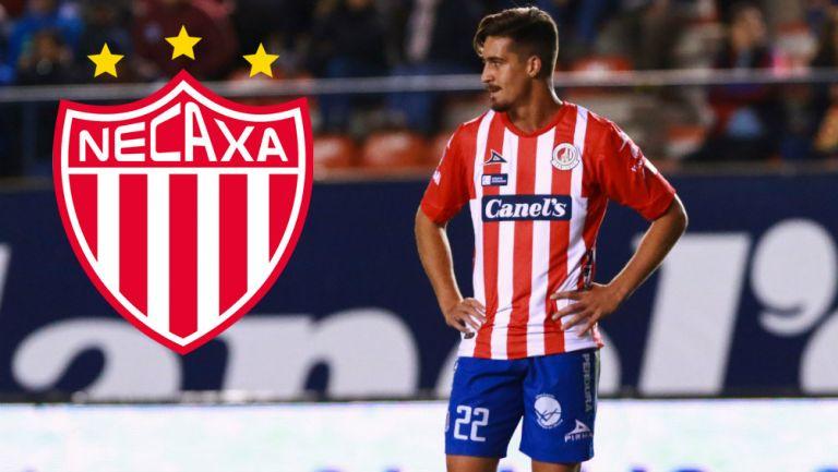 Ian González en acción con Atlético San Luis