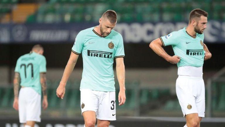Serie A: Inter empató contra Hellas y cayó al cuarto lugar de la tabla