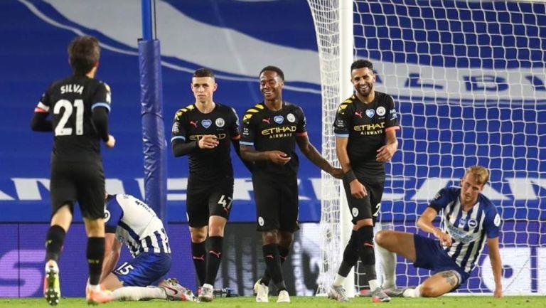 Premier League: Manchester City goleó a Brighton