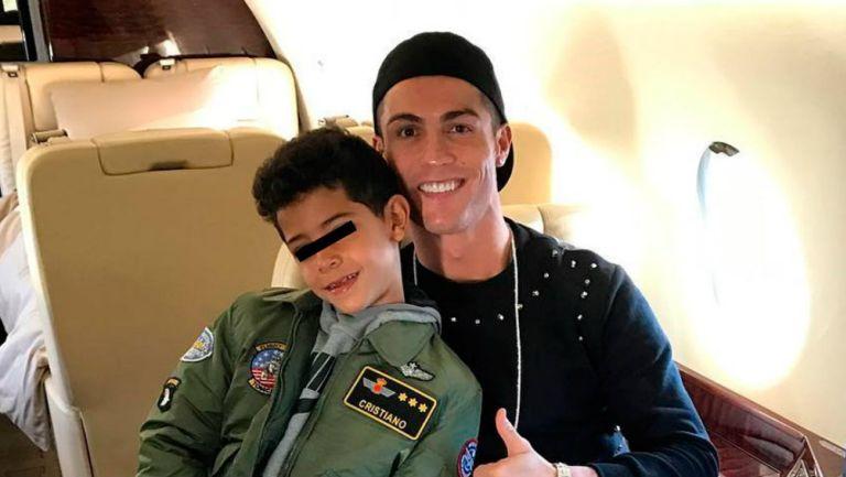 Cristiano Ronaldo: Policía investiga a su hijo por conducir moto ...