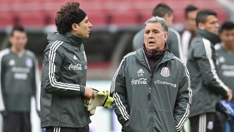Memo Ochoa: 'Tata Martino es un súper entrenador'