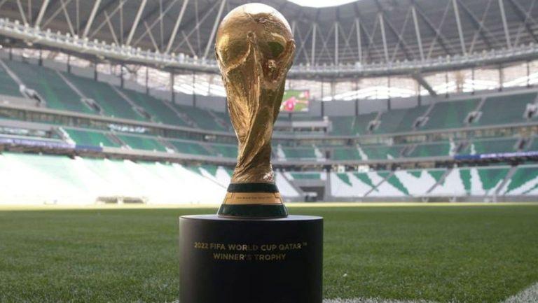 Así luce el trofeo de la Copa del Mundo