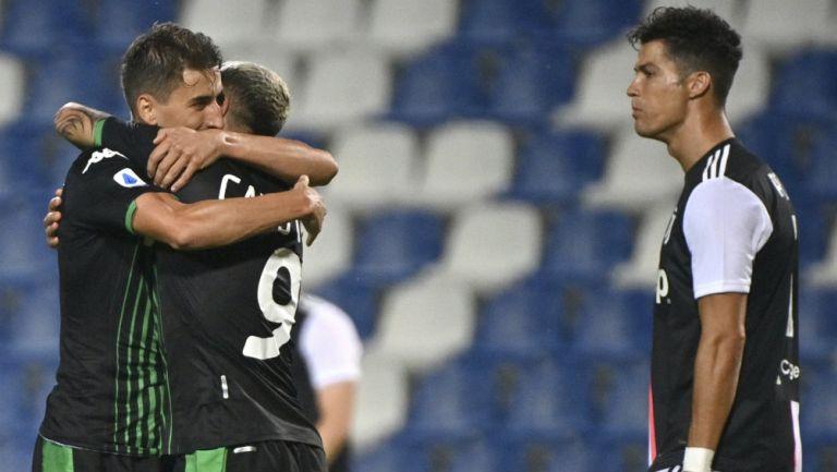 Serie A: Juventus empató con Sassuolo y deja en el aire el título