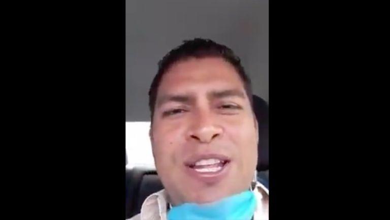 Juventino Molinos, funcionario de Huejutla, Hidalgo