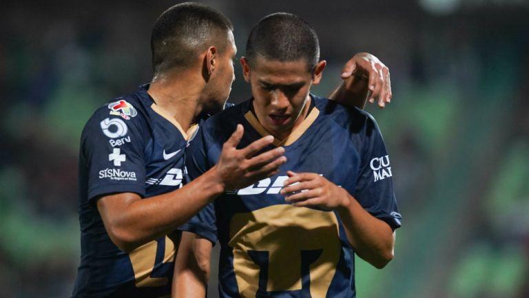 Jesús Rivas en lamento de gol